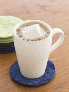 DIY Sweater Coasters