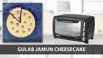 Gulab Jaamun Cheescake