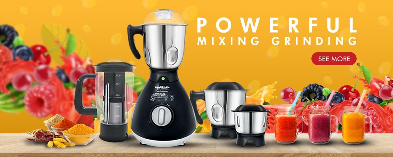 New range of mixer grinders & Juicer mixer grinders